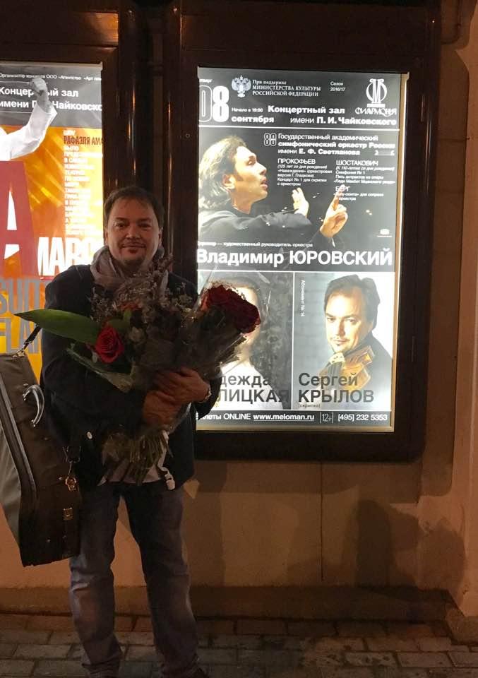 Vladimir Yurovski, 8 September 2016